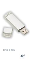 Unidades de USB de 1GB